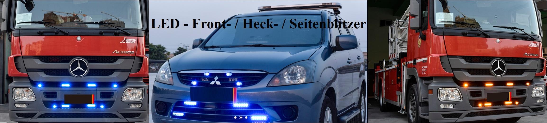 LED - Front- Heck- Seitenblitzer