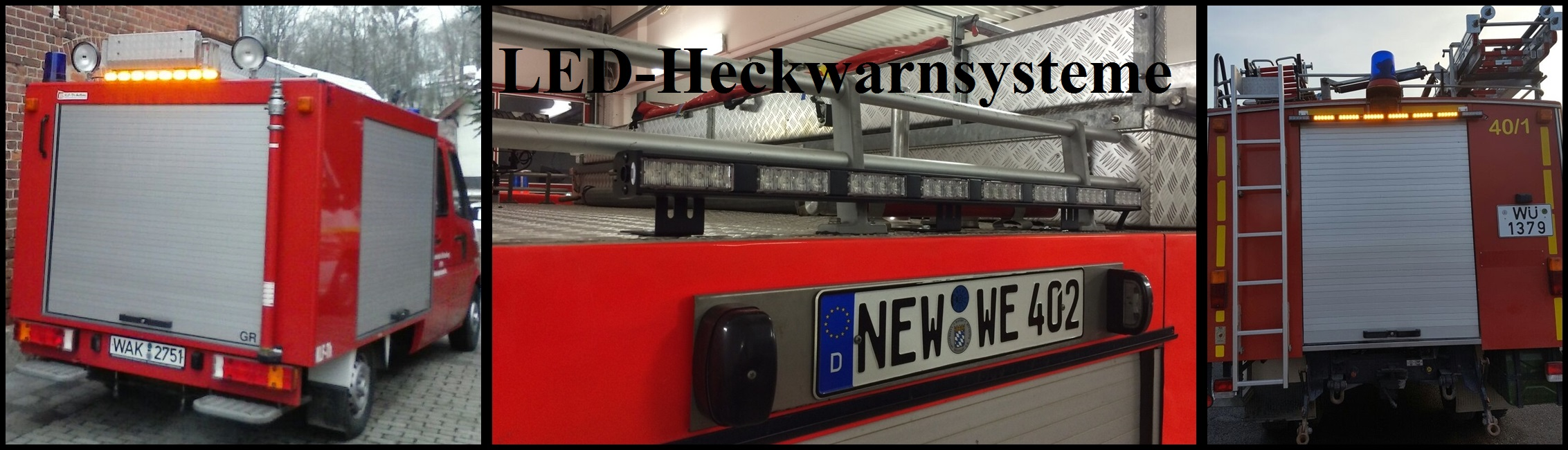 LED-Heckwarnsysteme